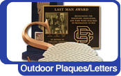 Outdoor Plaques And Cut-Out Letters